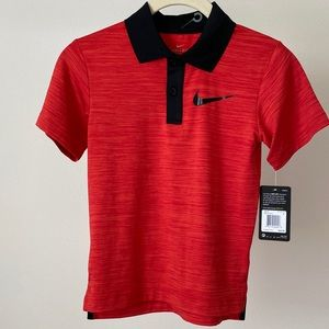 Nike Dri Fit polo boys 6 shirt